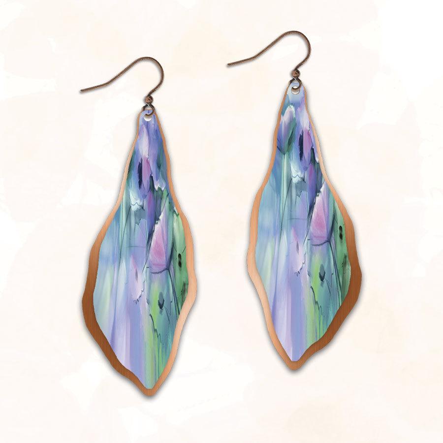 Illustrated Light Earrings