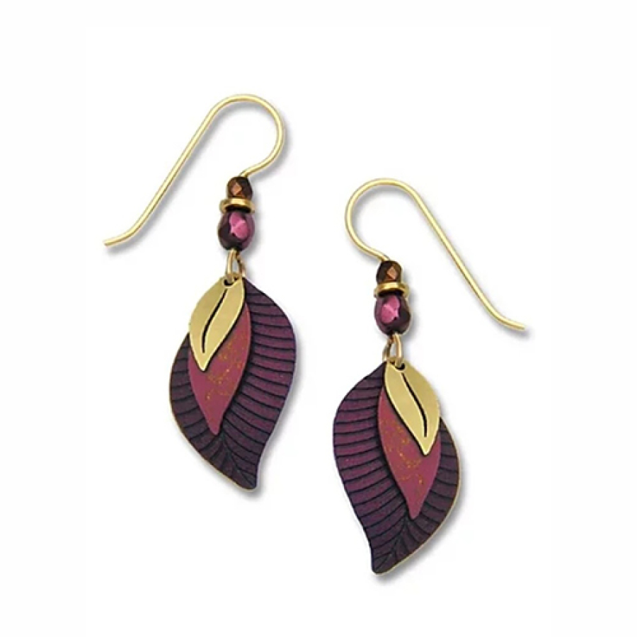 Earrings Brown Sand Gold